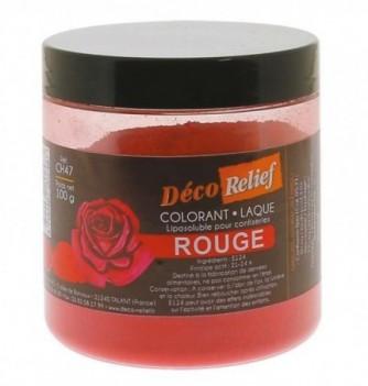 Colorant Alimentaire Liposoluble Rouge Laque 100g