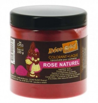 Fat Soluble Food Color - Pink - 100 gr