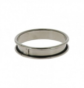 Cercle à tartelette inox - dia.8 cm - H.2 cm