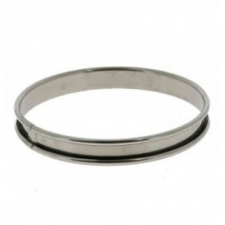 Cercle Inox Micro-perfore Rond Ø14x3,5cm