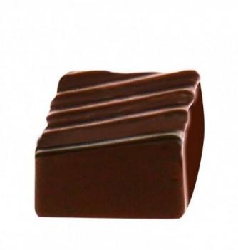 Moule petit Bonbon Chocolat INJ carré 21pces