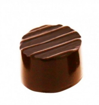 Moule petit Bonbon Chocolat INJ rond 21pces