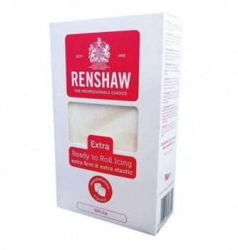 RENSHAW EXTRA White Sugar Paste 1Kg