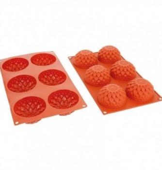 Moule Gâteau Silicone Dhalias Décoflex - 6pcs