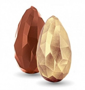 Kit Moule Oeuf 3D Relief Chocolat Monolithe