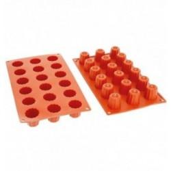 Moules silicone Intrigue Mignon PavoFlex 40x28mm