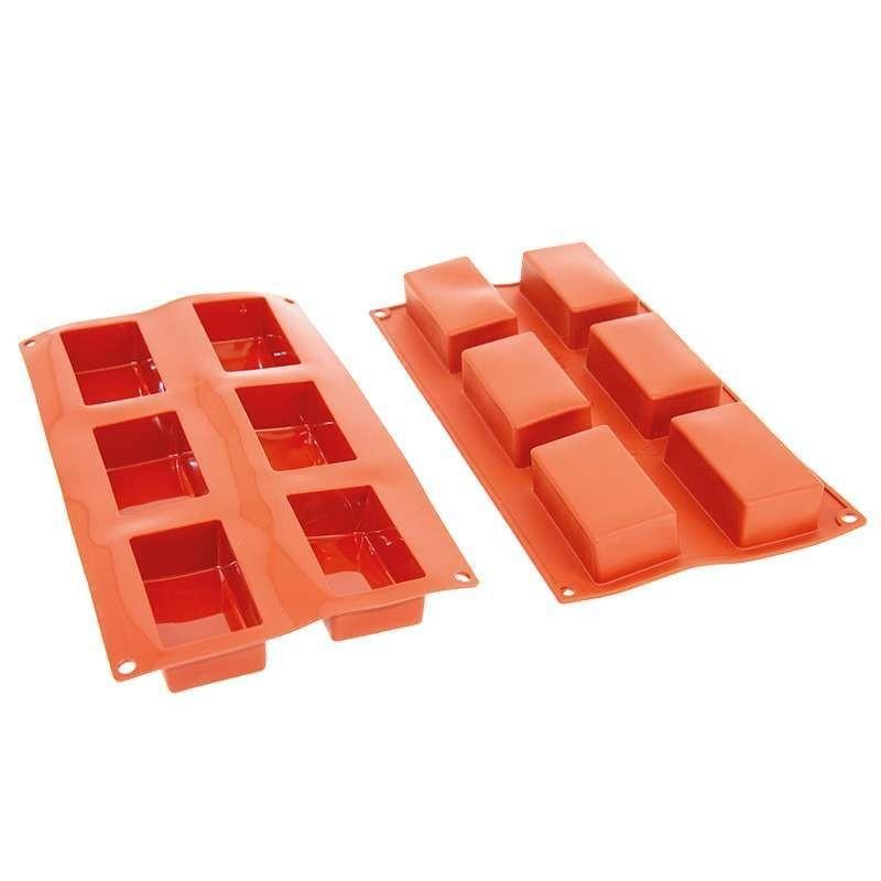 Moules silicone Log Mignon PavoFlex 60x24x21mm