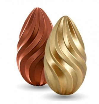 Kit Moule Oeuf 3D Relief Chocolat Twist