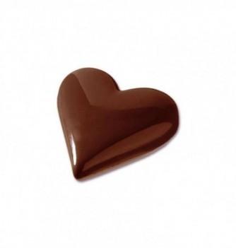 Moule Bonbon Chocolat Coeur Uni Petit Modèle