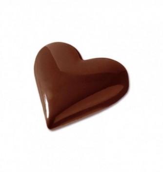 Moule Bonbon Chocolat Coeur Uni Moyen