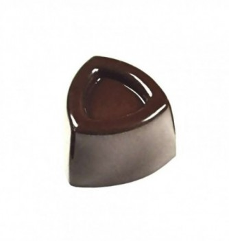 Chocolate mold rounded triangle 21pcs 12g