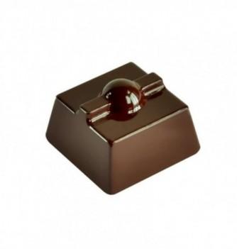 Chocolate mold square knot 21pcs 10g