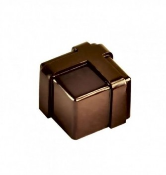 Chocolate mold square gift 21pcs 12g