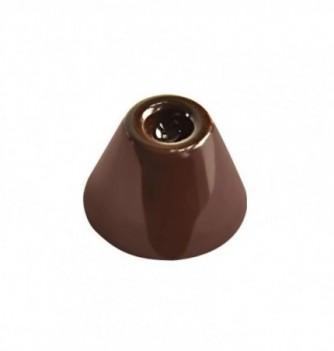 Moule Bonbon Chocolat Pyramide Ronde Creuse