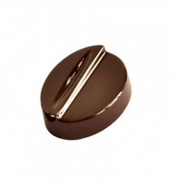 Chocolate mold Original oval 21pcs 8g