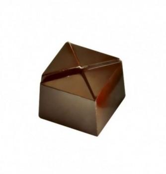 Chocolate mold sharp square 36pcs 8g