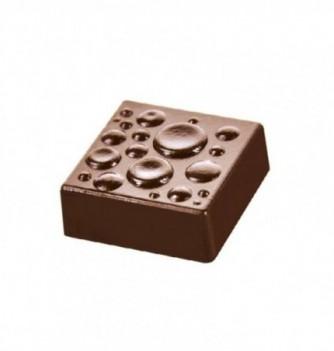 Moule Bonbon Chocolat Carré Gouttes