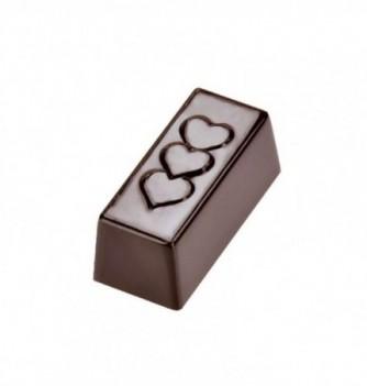 Moule Bonbon Chocolat Rectangle Coeur