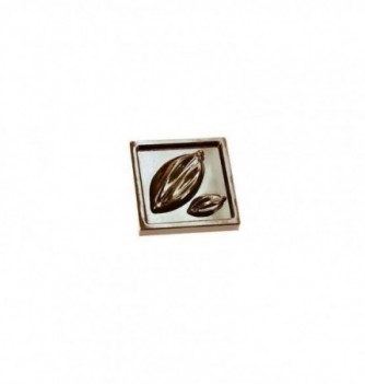 Chocolate mold chocolate square cocoa beans