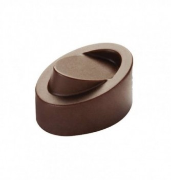 Chocolate mold - 21 Fancy Rounds 32x23x19  10 gr
