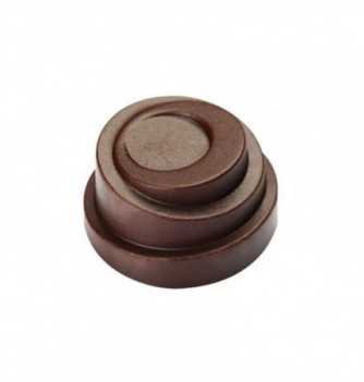 Chocolate mold - 21 Spiral Rounds diam. 30x17 10 gr