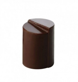 Chocolate mold - 24 Rounds Cylinders diam. 21x28  10 gr