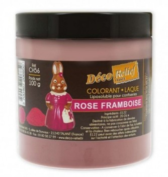 Fat Soluble Food Color - Raspberry Pink - 100 gr