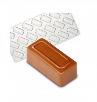 Chocolate Mold for Sweets -Rectangle - 21 pcs