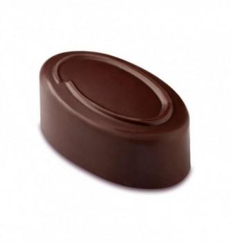 Moule Bonbon Chocolat Artisanal Ovale Contour