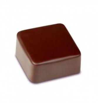 Moule Bonbon Chocolat Artisanal Carré Uni Bombé