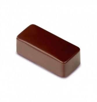 Moule Bonbon Chocolat Artisanal Rectangle Uni Bombé