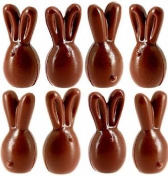 Moule Bonbon Chocolat Lapins à Garnir