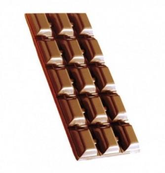 Moule Tablette Chocolat Gros Carrés 48gr