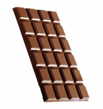 Chocolate mold tablet 3 pcs approx.61 g