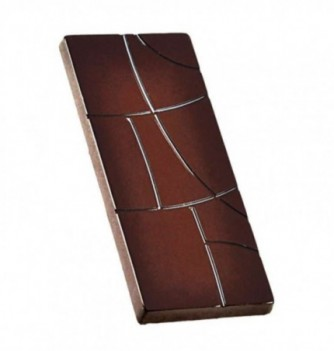 Chocolate mold bars 117x48x5.5mm 4pcs 50g