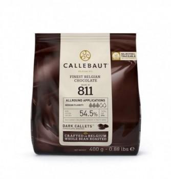 CHOCOLAT COUVERTURE NOIR CALLEBAUT 400GR