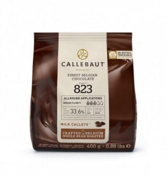 CHOCOLAT COUVERTURE LAIT CALLEBAUT 400GR