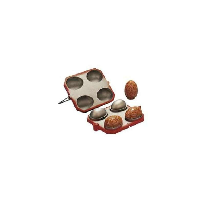 Moule chocolat coq athlète 180mm