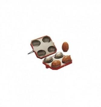 Mold for nougatine 4 half-egg-95mm