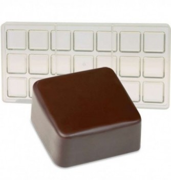 Moule Bonbon Chocolat INJ Carré