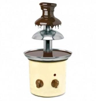 Petite fontaine chocolat colorée