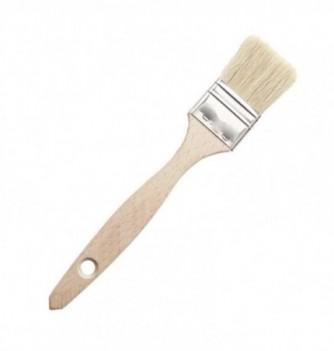 PINCEAU plat bois soie naturelle 40 mm x 308 mm
