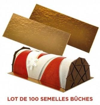 LOT 100 semelles de bûches 59,5 cm