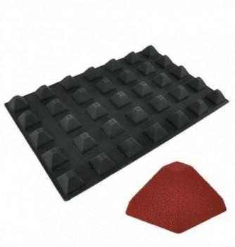 Silicone mold DecoflexPro 60x40 (35 pyramids) -50x50x35mm