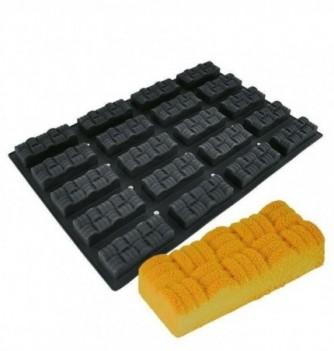DECOFLEX 60x40 NOIR 20 rectangle molletonné