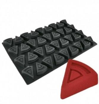 DECOFLEX 60x40 NOIR 36 part triangle