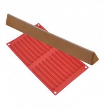 Moule silicone barre rectangle