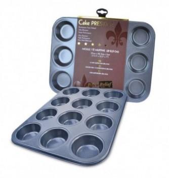 Moule anti-adhesif 12 muffins