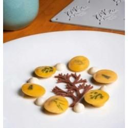 Moule Oeuf Chocolat Relief Inversé 4pcs