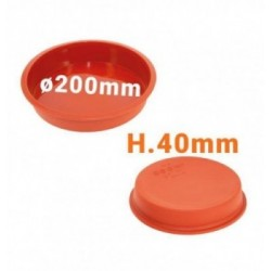 Moule silicone 8 cabosses cacao 76x48x22mm